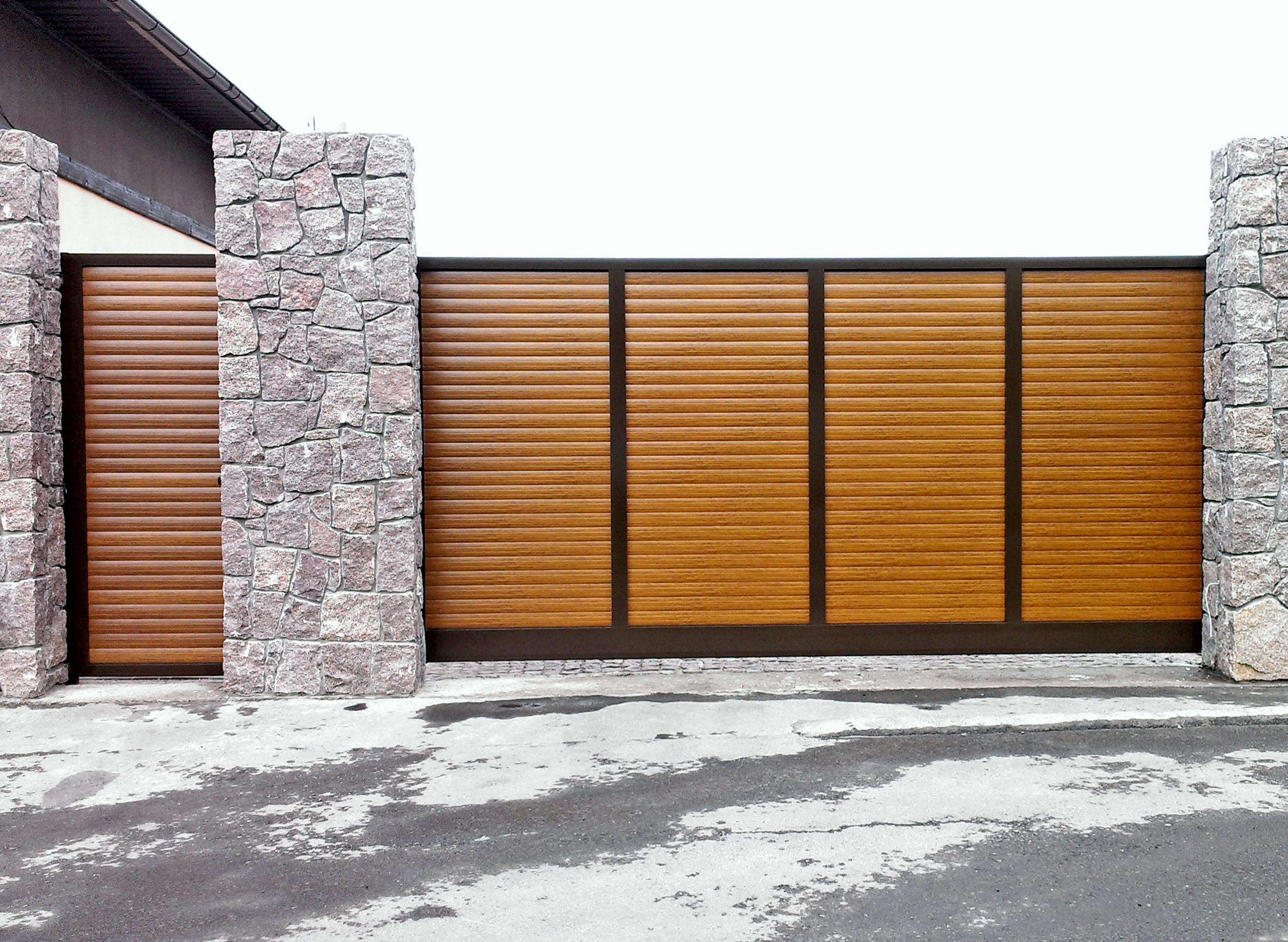 Алюминиевые ворота Alutech Prestige