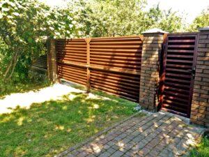 Ворота Жалюзі 8